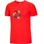 Ocun Bamboo T Holds T-Shirt Men Flame Red